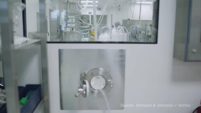 News video: Johnson & Johnson: Produktionsproblem bei Impfstoff-Charge