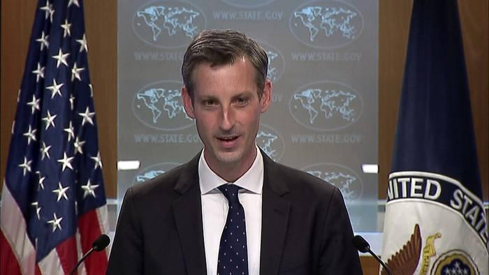 News video: Moskau schickt Truppen in Richtung Ukraine: USA warnen vor