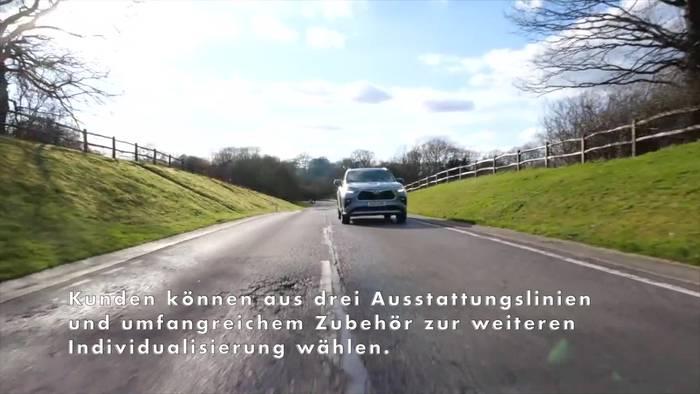 Video: Neuer Toyota Highlander startet zu Preisen ab 53.250 Euro