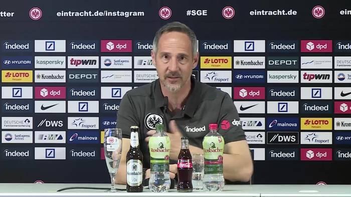 """News video: Hütter: """"Erling Haaland kannst Du allein nicht verteidigen"""""""
