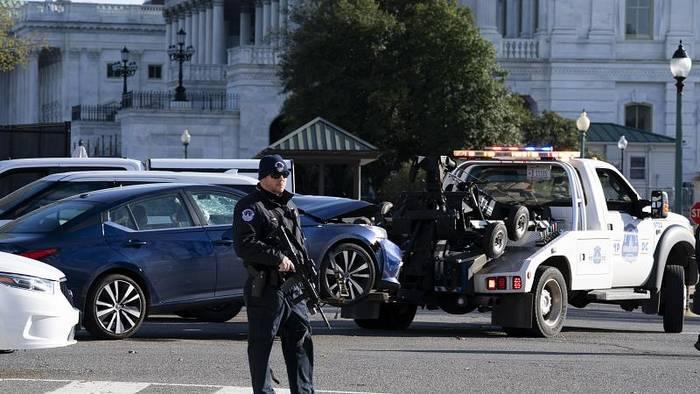 News video: 25-jähriger Angreifer tötet Polizisten vor US-Kapitol - Biden