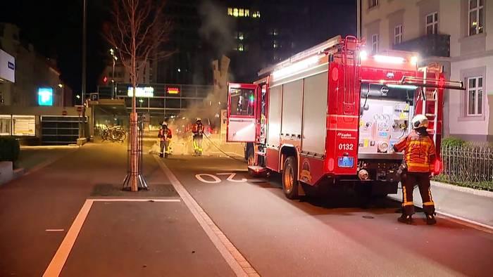 News video: Lockdown-Proteste in Bukarest, St. Gallen, Paris und Stuttgart