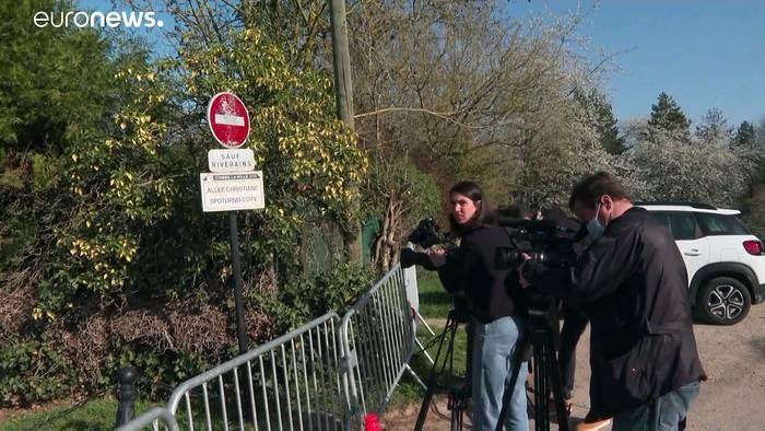 News video: Raubüberfall auf französischen Ex-Minister Bernard Tapie