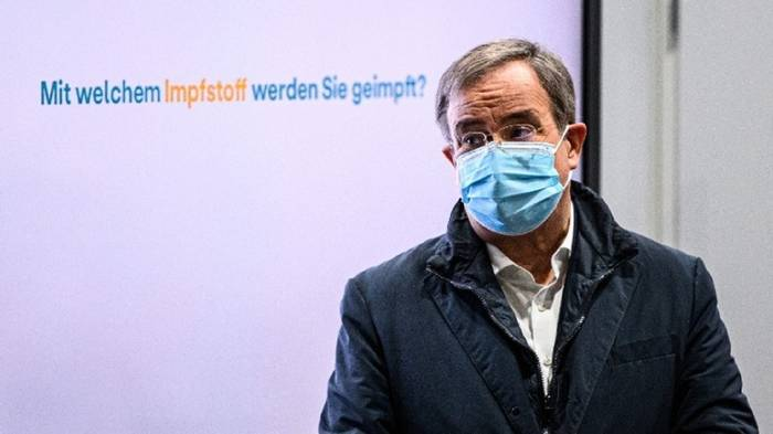 News video: CDU-Chef Laschet fordert harten