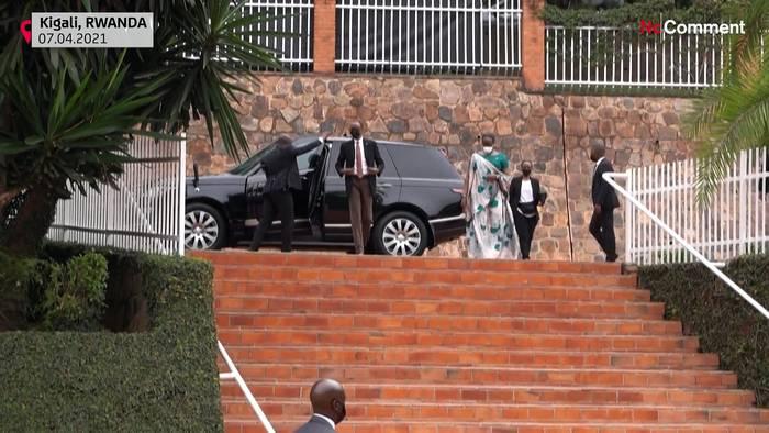 Video: Ruanda gedenkt der Opfer des Völkermordes - Macron öffnet französische Archive