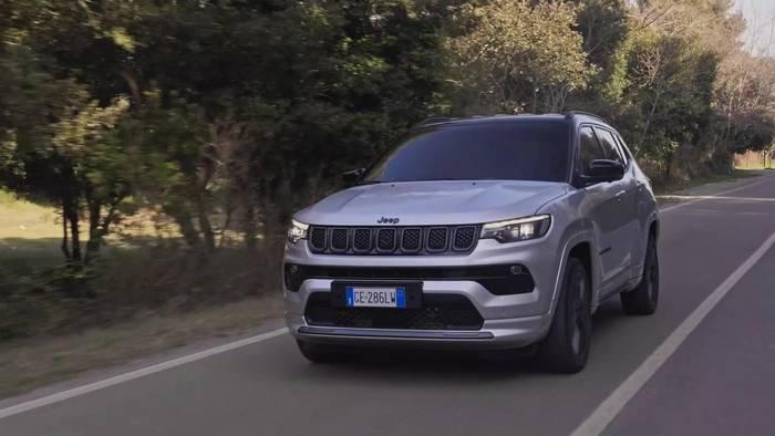 News video: Der Jeep® Compass Highlights
