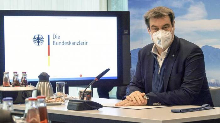 News video: Inzidenz sinkt auf 110 - Söder äußert sich zu Laschets Brückenlockdown