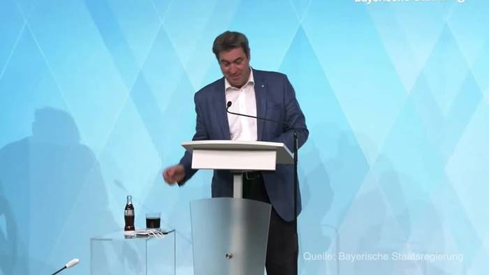 News video: Söder: Corona-Lockerungen frühestens Ende April
