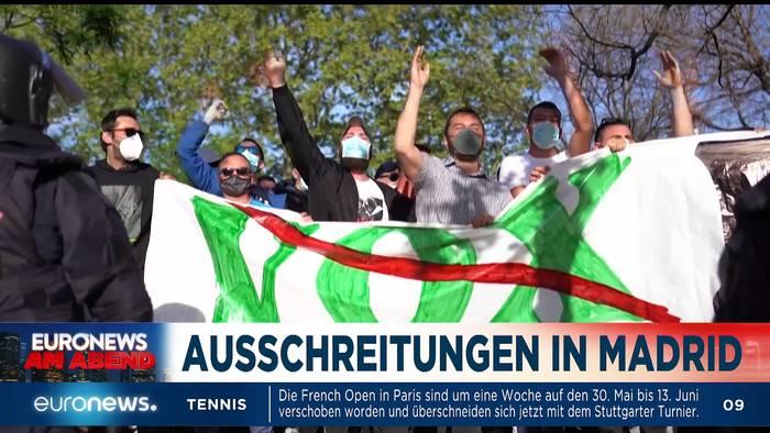 News video: Sputnik V, Laschet und Söder - Euronews am Abend am 08.04.