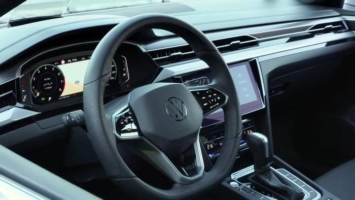 News video: Volkswagen Arteon R und Arteon R Shooting Brake - Das Interieurdesign