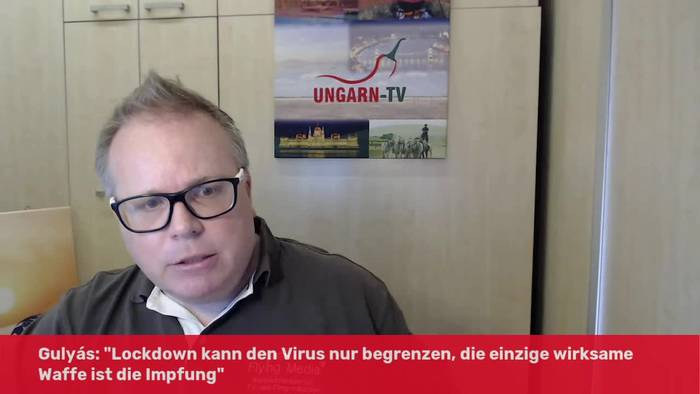 Video: Kanzleramtsminister Ungarns zu weiteren Lockerungen