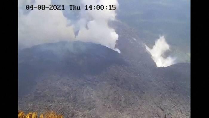 News video: Vulkan auf Karibik-Insel St. Vincent ausgebrochen, komplizierte Evakuierung wegen Pandemie