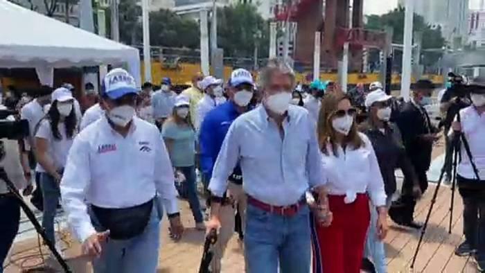 News video: Superwahlsonntag in Südamerika - Präsidentschaftwahlen in Ecuador und Peru