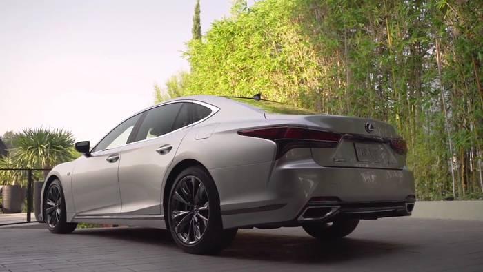 News video: Neue Assistenzsysteme im Lexus LS