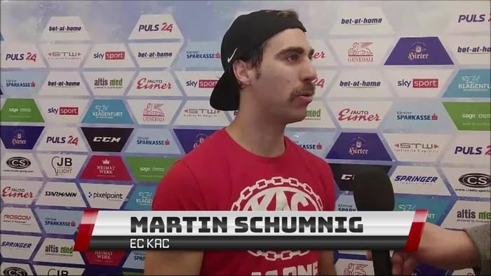 News video: ICEHL: KAC und Bozen fiebern dem Finale entgegen