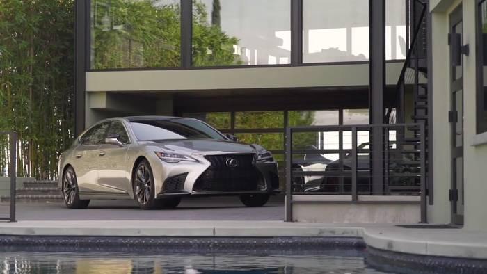 Video: Perfektionierte Performance im Lexus LS