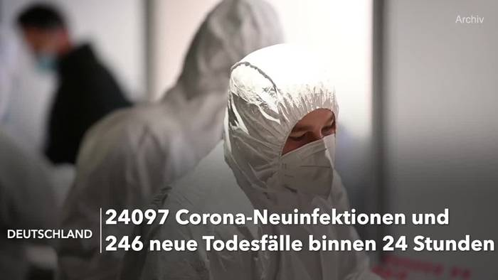 Video: Corona-Lage in Deutschland: RKI-Lagebericht vom 10. April
