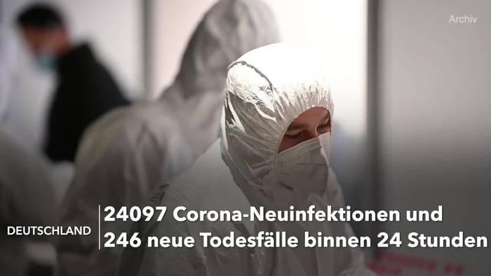 Video: Corona-Lage in Deutschland: RKI-Lagebericht vom 10. April
