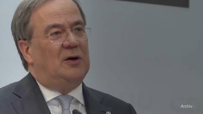 News video: Kanzlerkandidatur: Laschet verlangt schnelle Entscheidung