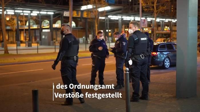 Video: NRW: Nächtliche Ausgangssperre wegen hoher Inzidenz in Hagen