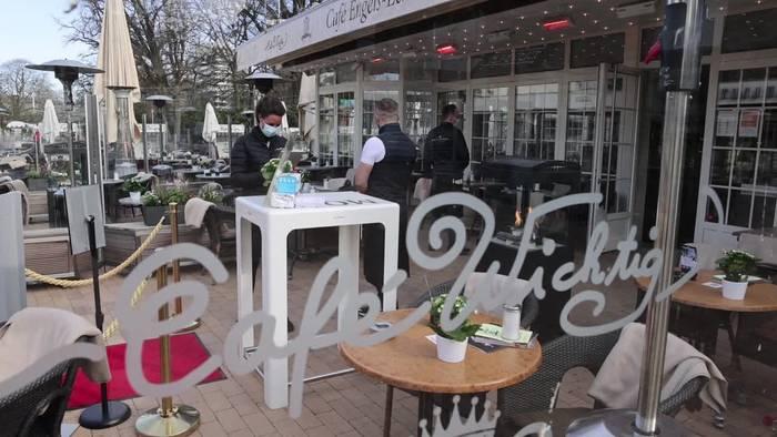News video: Schleswig-Holstein: Außengastronomie darf teilweise wieder
