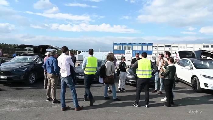 News video: Tesla-Kritik an Genehmigungsverfahren rund um Berliner Werk