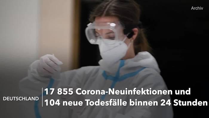 Video: Corona-Lage in Deutschland: RKI-Lagebericht vom 11. April