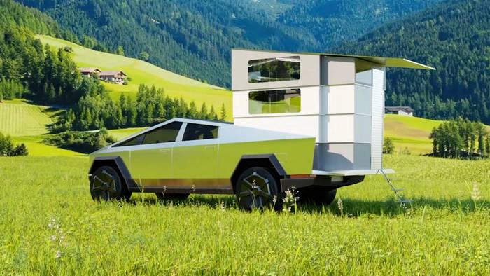 News video: CyberLandr: So wird der Tesla Cybertruck zum Campingwagen