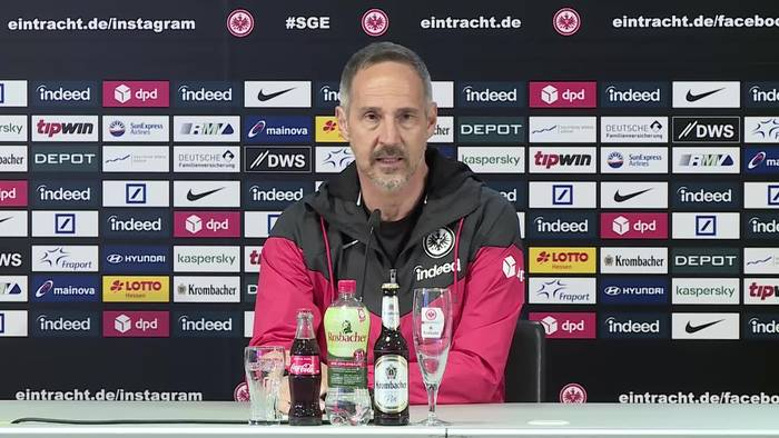 """News video: Adi Hütter: """"Ich trage Frankfurt im Herzen"""""""