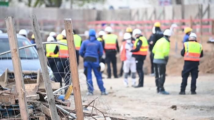 News video: Zoll kontrolliert Baustellen im Kampf gegen Schwarzarbeit
