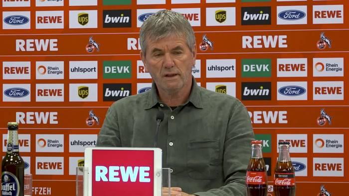 "News video: ""Feuer"" im Training des 1. FC Köln"