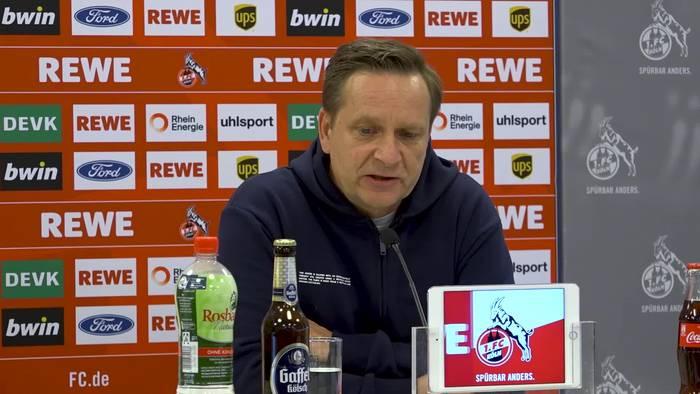 """Video: Kölns Manager Horst Heldt zu Corona-Fällen in der Bundesliga: """"Sind alle sensibilisiert"""""""