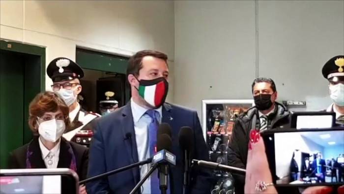 News video: Prozess gegen Salvini: