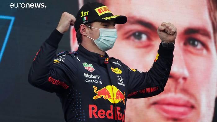News video: Formel 1: Max Verstappen siegt im Crash-Rennen von Imola