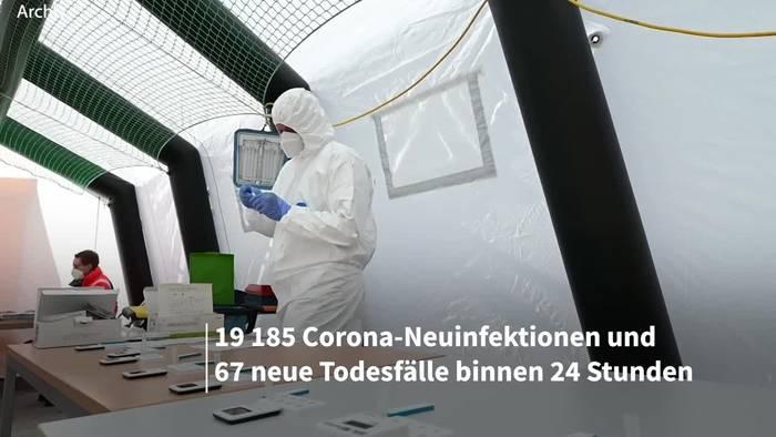 News video: Corona-Lage in Deutschland: RKI-Lagebericht vom 18. April