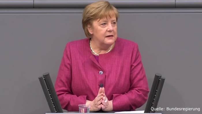 News video: Bundeskanzlerin: Die dritte Welle hat unser Land fest im Griff!