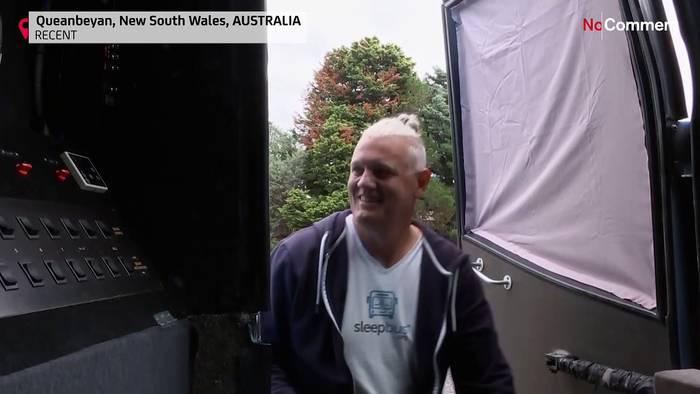 News video: Australien: Schlafbus für Obdachlose