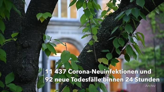 Video: Corona-Lage in Deutschland: RKI-Lagebericht vom 19. April