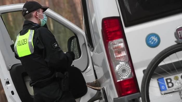 News video: Einigung bei Notbremse: Ausgangsbeschränkungen ab 22 Uhr