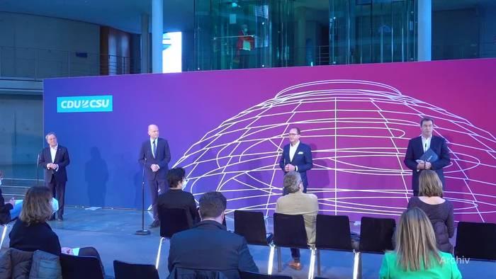 News video: Söder: Entscheidung zur K-Frage obliegt jetzt nur der CDU