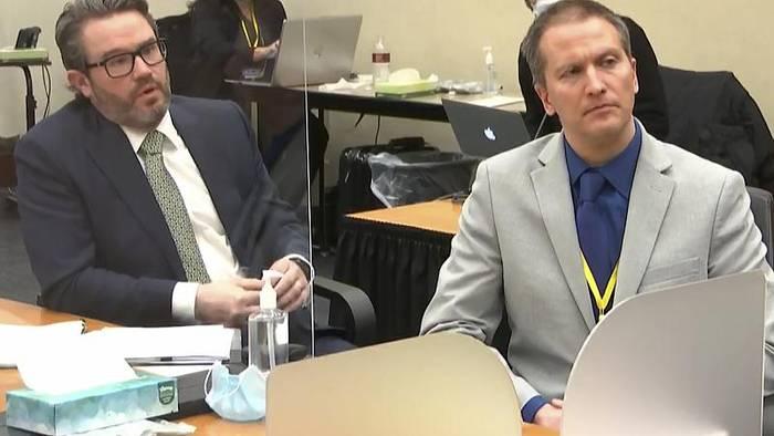 News video: Ex-Polizist Derek Chauvin des Mordes an George Floyd schuldig gesprochen