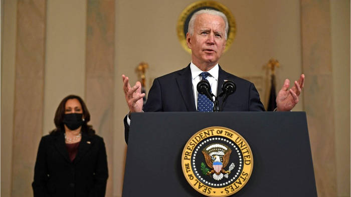 News video: George-Floyd-Prozess: So reagierten Joe Biden und Co. auf das Urteil