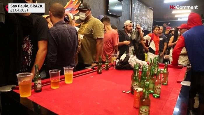 News video: Polizeirazzia in brasilianischer Bar