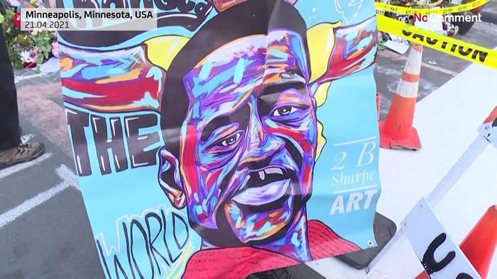News video: Erleichterung über Schuldspruch im Floyd-Prozess