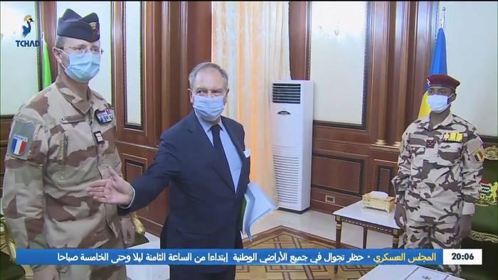 Video: Tschad: Paris will Übergangsregierung stabilisieren