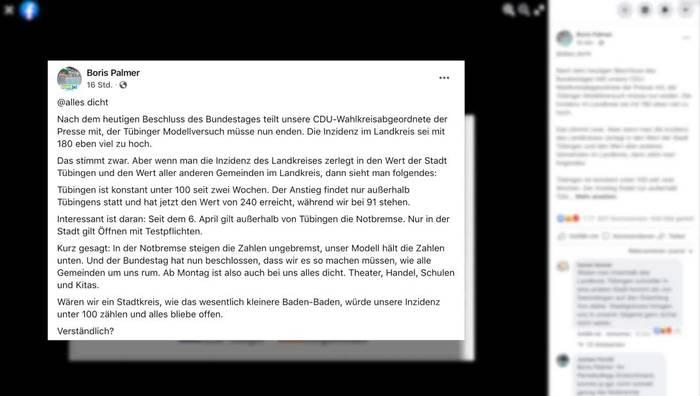 News video: Alles dicht: Tübinger Corona-Modellprojekt nach sechs Wochen