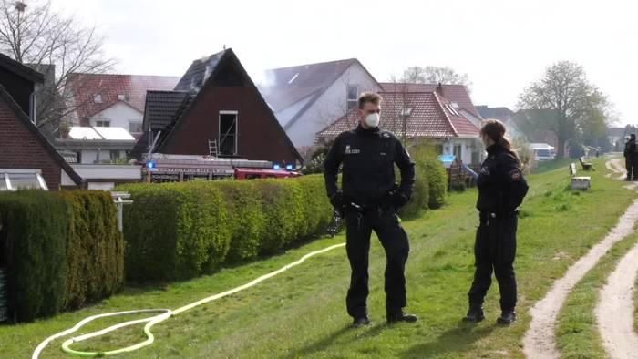 News video: Vier Tote bei Wohnhausbrand in Bremen