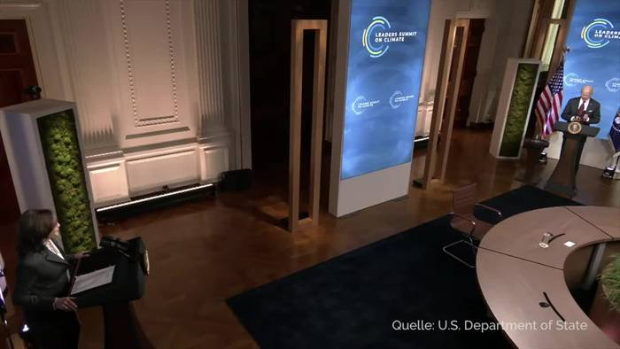 News video: Biden setzt USA neues Klimaziel für 2030