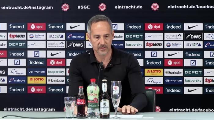 News video: Hier lüftet Frankfurts Trainer Adi Hütter ein kleines Geheimnis