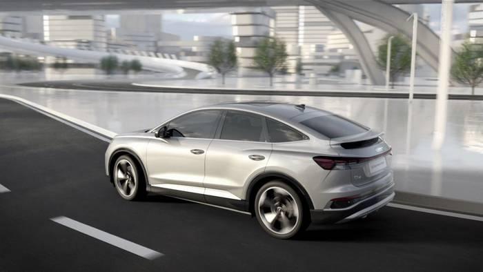 News video: Audi Q4 Sportback e-tron – Elektrischer quattro - Momentenverteilung und Kühlung Animation